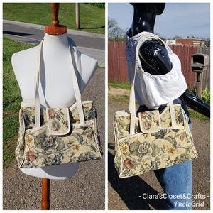 Vintage Montiva Accessories Tapestry Shoulder Bag